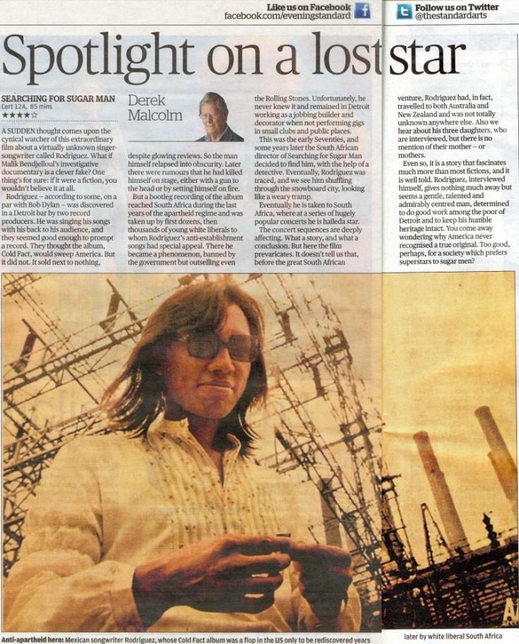 Evening Standard Review