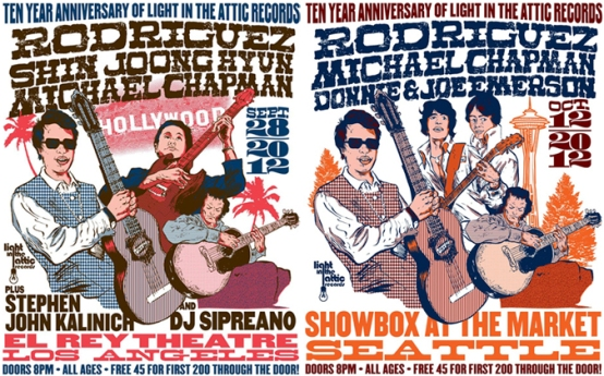 Light In The Attic's 10 Year Anniversary | Seattle & Los Angeles Concerts