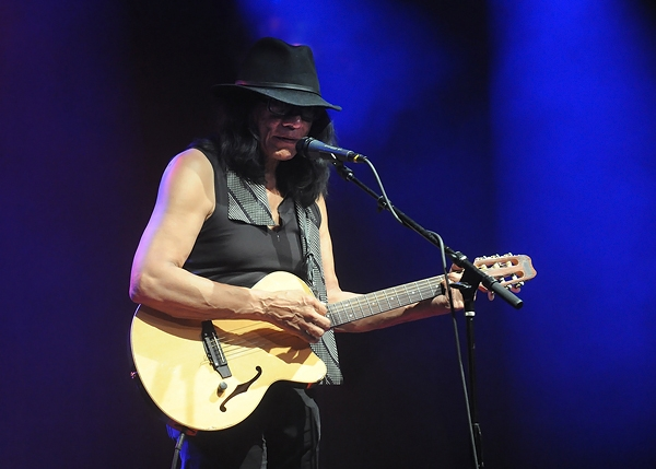 Rodriguez performs at the Highline Ballroom in New York.