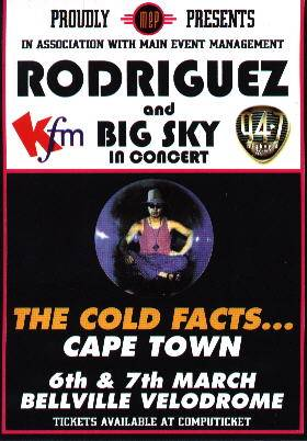 The Cold Facts ... Cape Town Poster