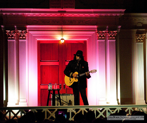 Photos of Rodriguez at Sixth & I Historic Synagogue