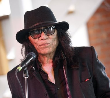 "Searching for Sugar Man"" star Rodriguez appears to be staying put in Detroit - even if he wins an Oscar next month.  Associated Press"