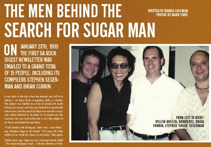 The Men Behind The Search For Sugar Man | YourLMG, February 2013