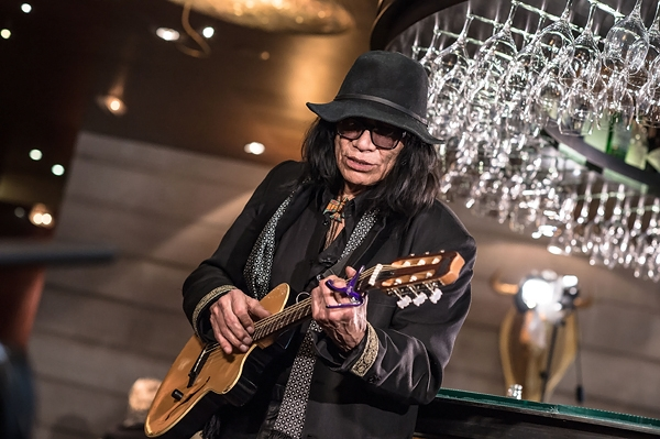 Rodriguez performs at Banke Hotel in Paris. David Wolff - Patrick/WireImage