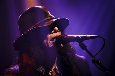 U.S. folk singer Sixto Rodriguez performs during the first night of the 47th Montreux Jazz Festival July 4, 2013. Credit: Reuters/Valentin Flauraud