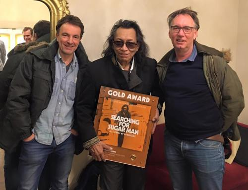 Rodriguez received gold record recognition in The Netherlands from Sony Music.