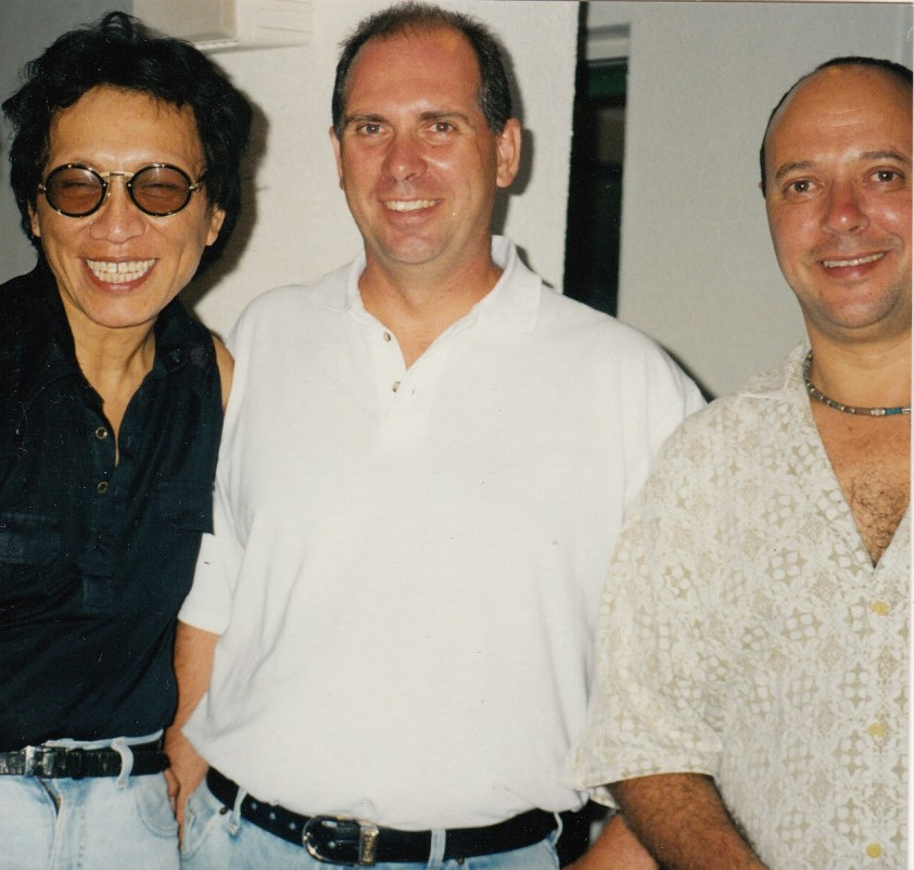 "Sixto Rodriguez, Brian Currin, Stephen ""Sugar"" Segerman, 2 March 1998"