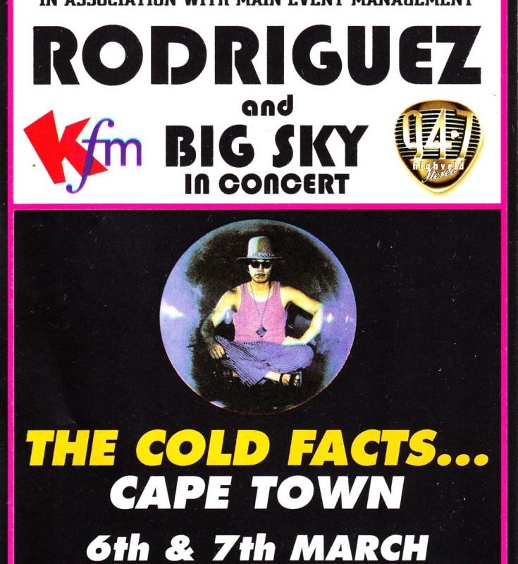 Cold Facts Tour