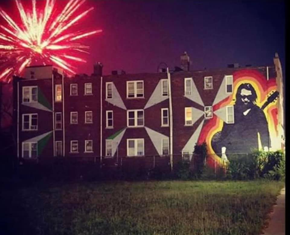 Rodriguez Mural in Detroit | photo: James Mortensen
