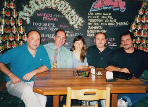 Sugar, Brian, Eva, Craig, David 5 March 1998