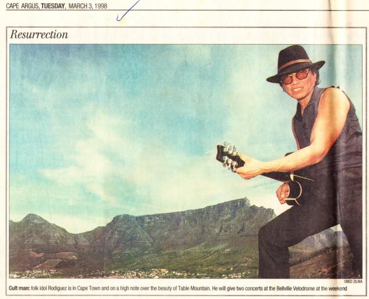 Cape Argus March 3, 1998