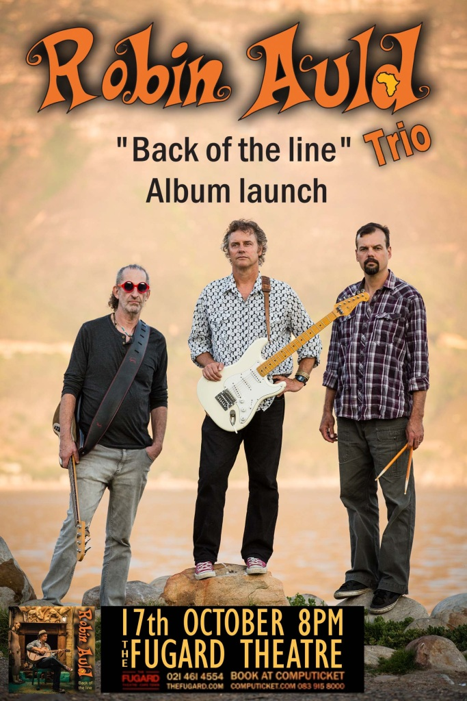 Robin Auld - Back Of The Line