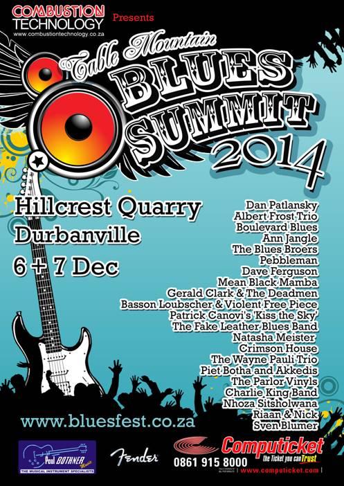 Table Mountain Blues Summit 2014