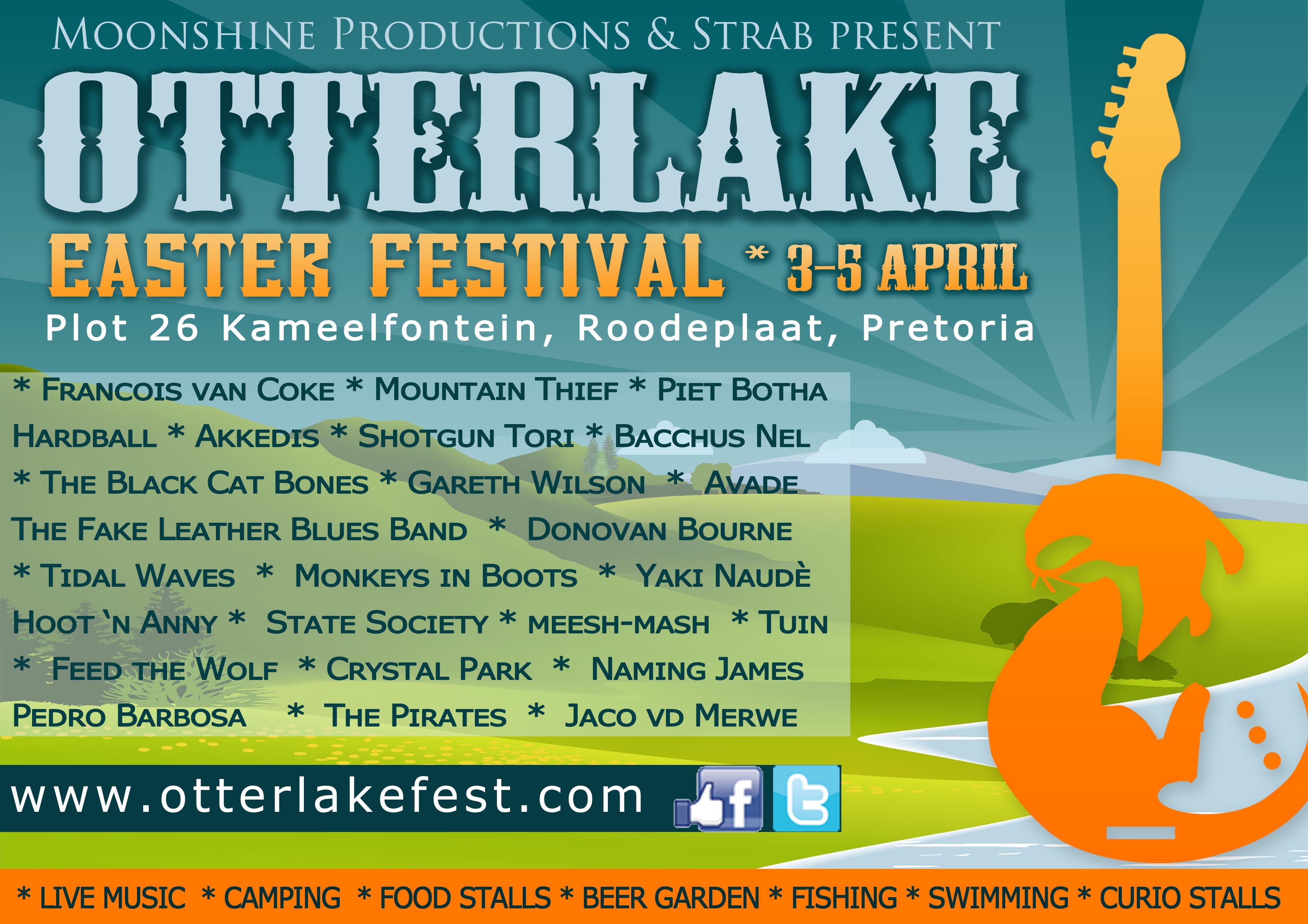 Otterlake Easter Festival 3-5 April 2015