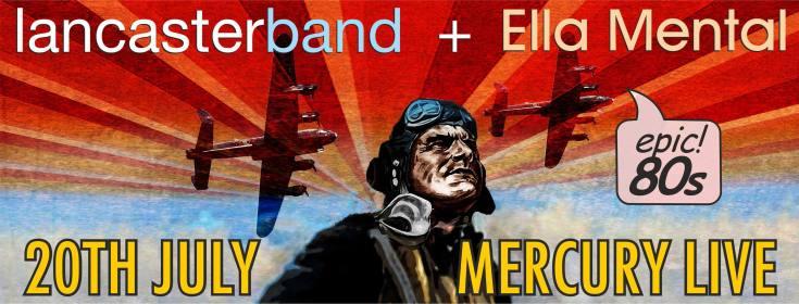 Lancaster Band + Ella Mental Live